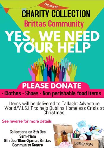 christmas charity poster